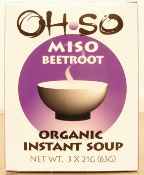 Ohso Beetroot Miso Soup